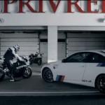 BMW M3 и BMW S 1000 RR Superbike выяснили отношения