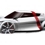 Городской электрокар Audi