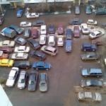 Забавная парковка