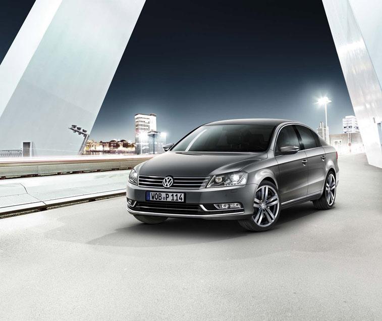 Volkswagen Passat  стал автомобилем бизнес-класса