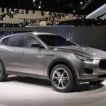 Концепт Maserati Kubang сделал свой североамериканский дебют в Детройте