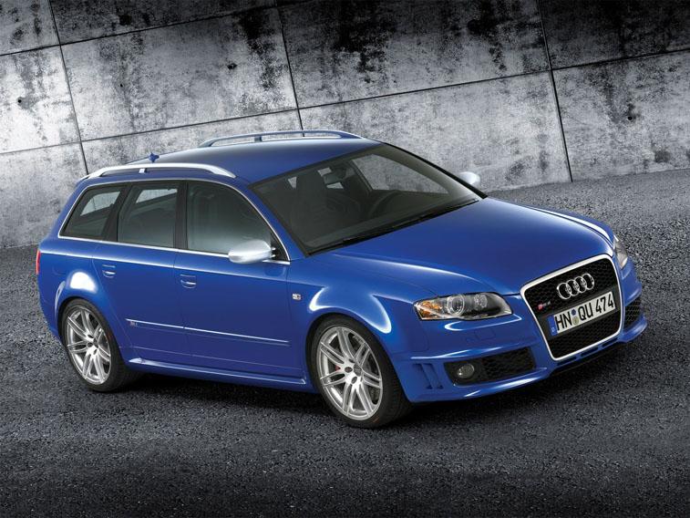 Audi RS4 Avant не только красива, но и обладает прекрасными характеристиками