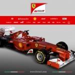 Ferrari представила F2012, последней в серии из 58 гоночных машин, специально сконструированных для Формулы-1