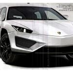 Lamborghini SUV фото