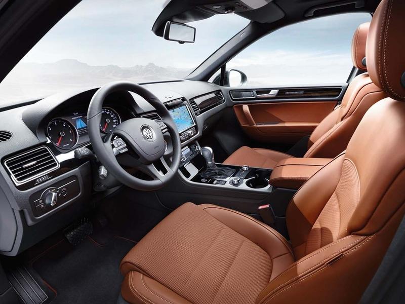 Фото Volkswagen Touareg Edition X