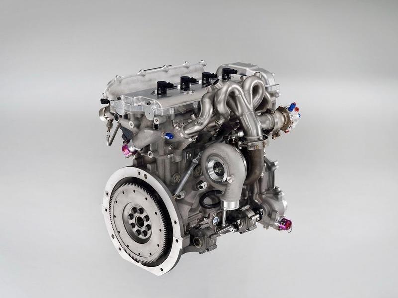 Двигатель Toyota Hybrid-R