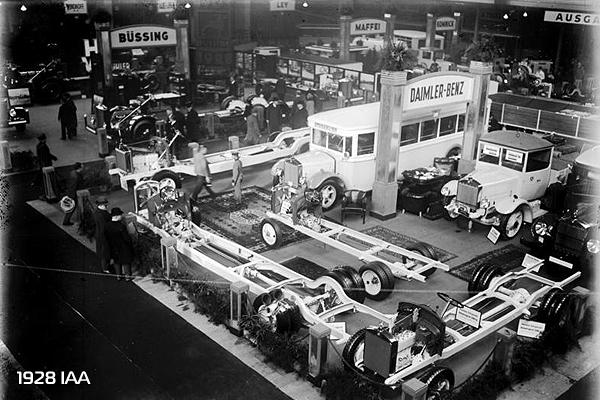 Автосалон в Берлине 1928