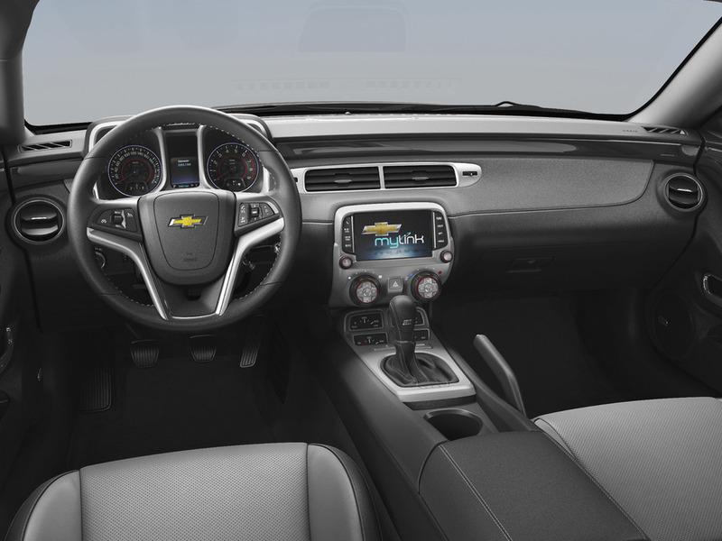 Салон Chevrolet Camaro фото