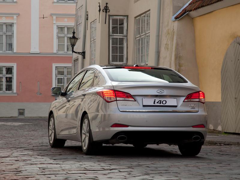 Новая комплектация Hyundai i40