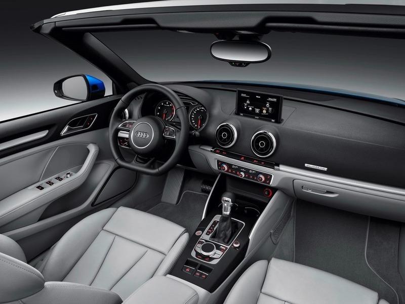 Салон Audi A3 фото