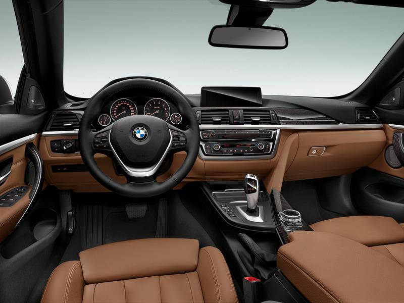 Салон BMW 4 Series фото