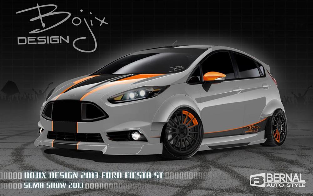 Фото тюнинга нового Ford Fiesta ST