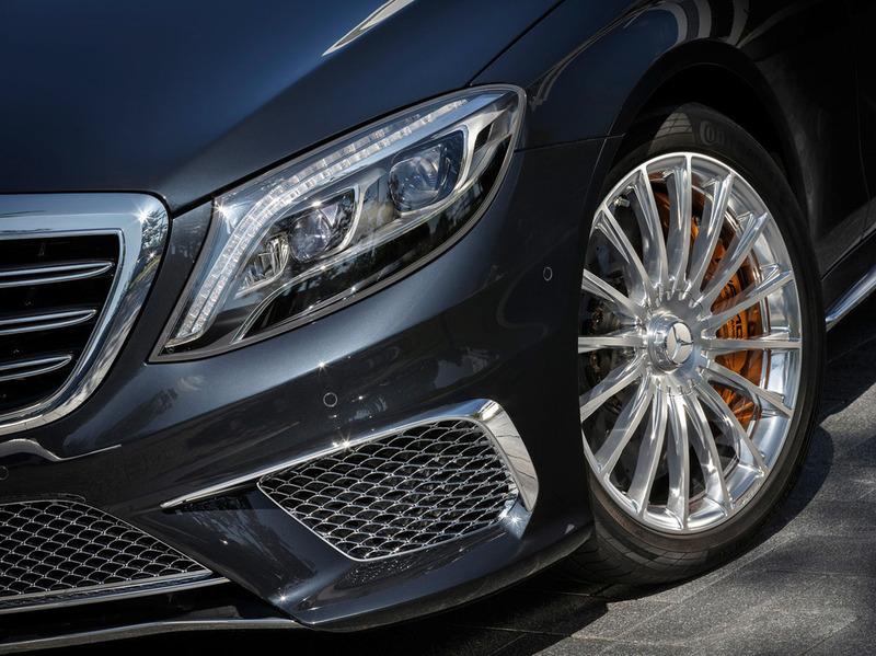 Новый Mercedes-Benz S 65 AMG