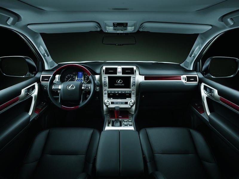 Салон Lexus GX 460