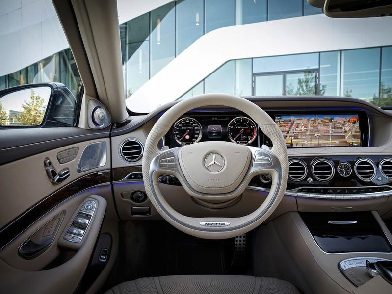 Салон Mercedes-Benz S 65 AMG