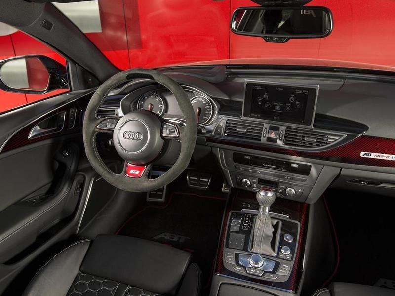 Салон Audi RS6
