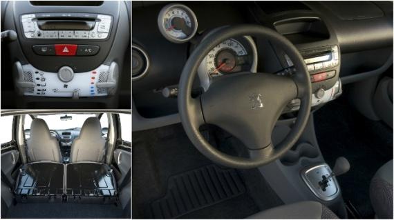 Салон Peugeot 107