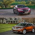 Honda Crosstour и Toyota Venza