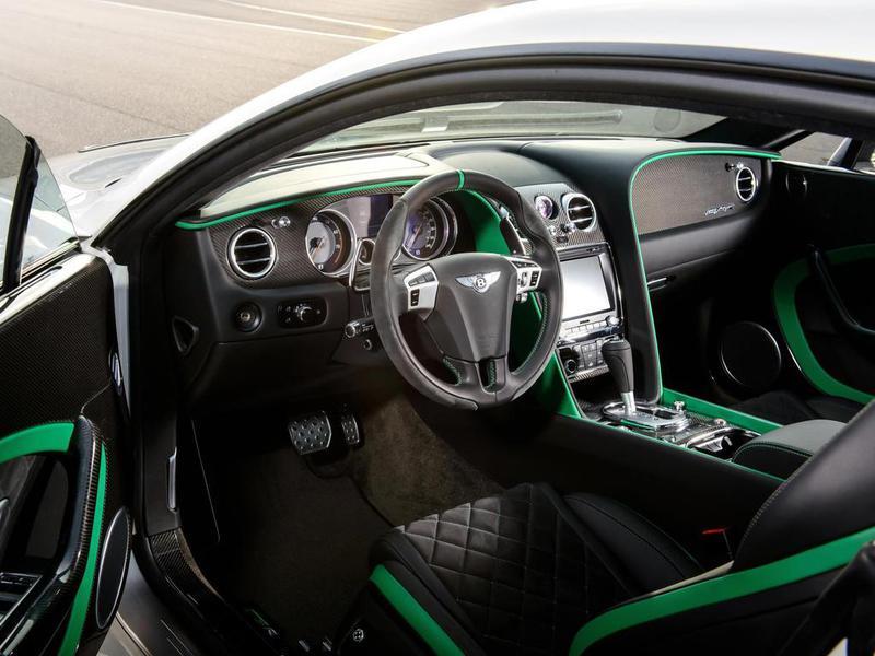 Салон Bentley Continental