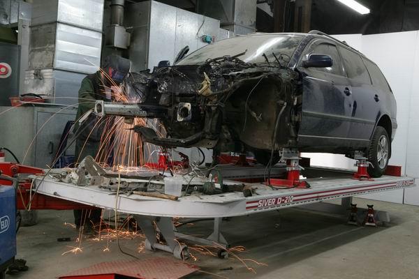 Как проводятся работы по кузовному ремонту