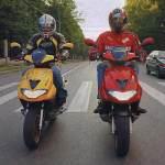 Что лучше – мотоцикл или скутер?