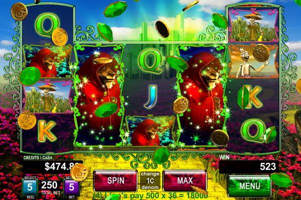 Игровые автоматы, рассказывающие о ведьмах и волшебниках